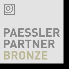 Logo PAESSLER Bronze Partner - Partnerschaften - LM2 Consulting GmbH