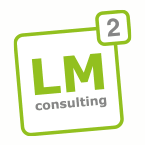 Logo des IT-Consulting-Unternehmens LM² Consulting GmbH