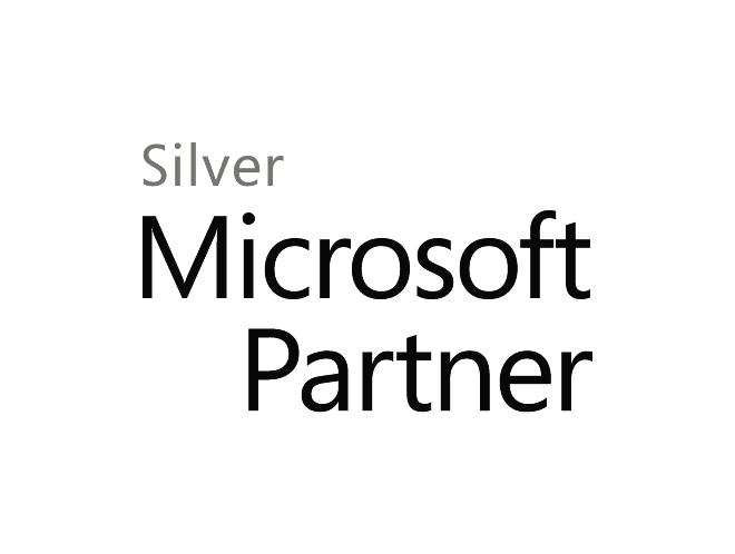 Logo Microsoft Silver Partner - Partnerschaften - LM2 Consulting GmbH